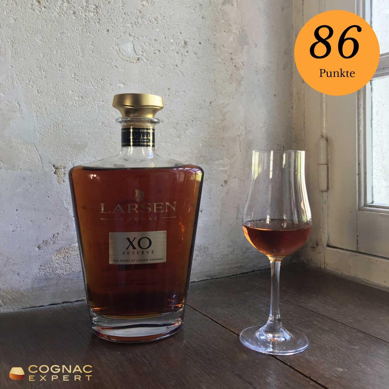XO Cognac von Larsen in unserer 2020 XO Cognac Verkostung