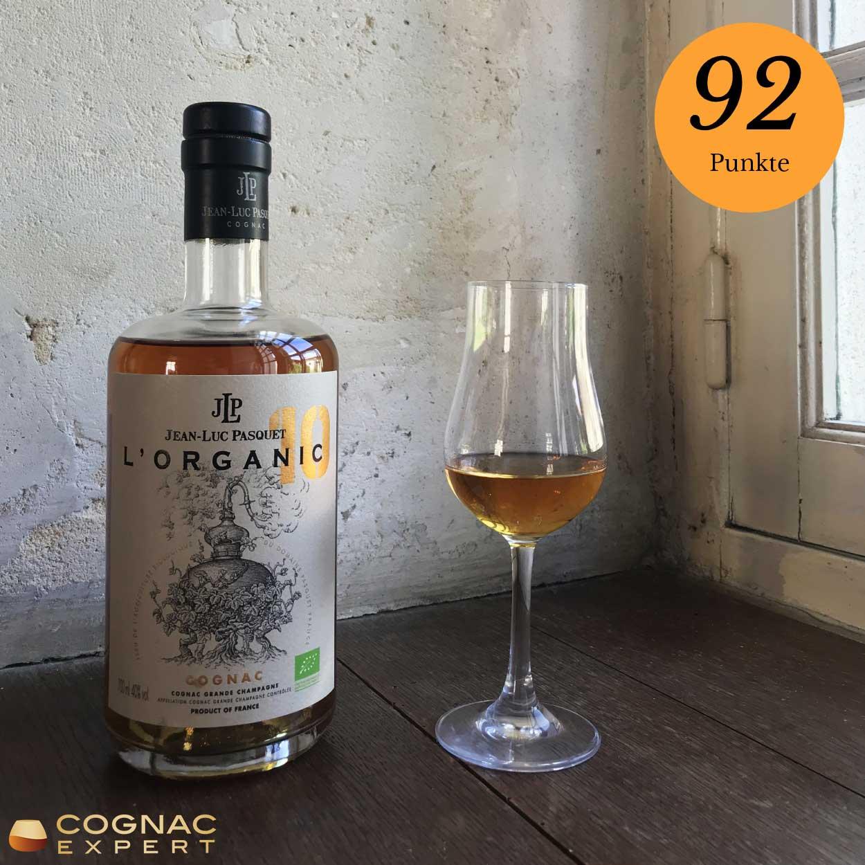 XO Cognac von Pasquet aus biologischem Anbau