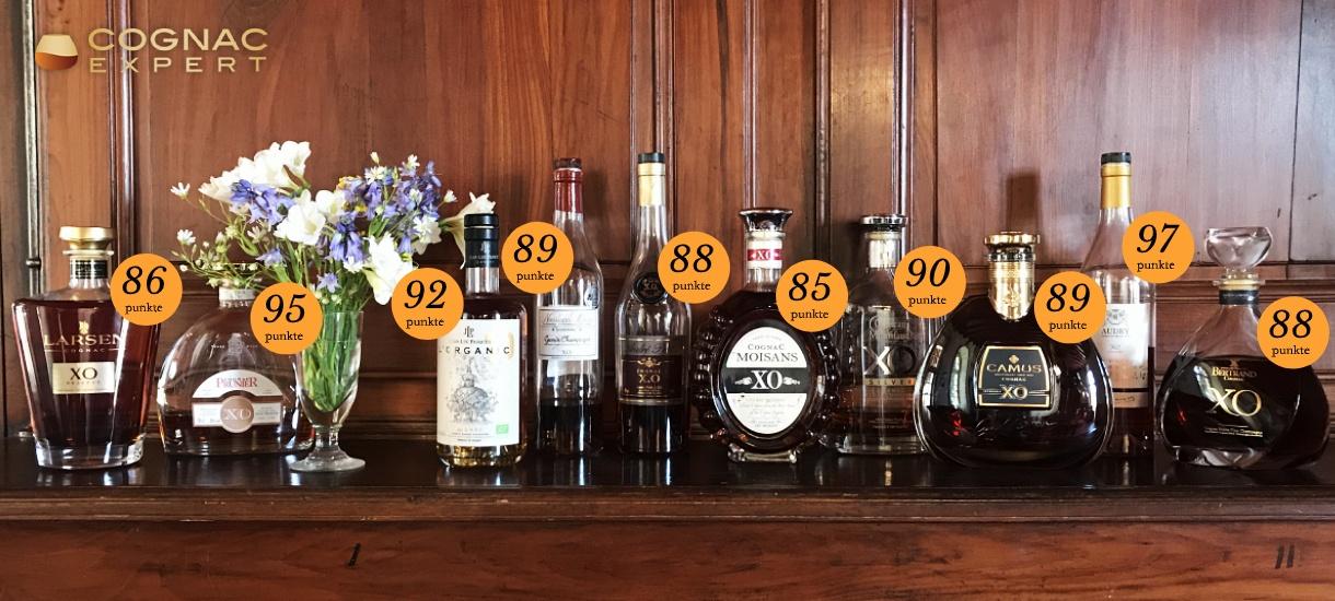Die besten Xo Cognacs 2020 aus unserer Verkostung