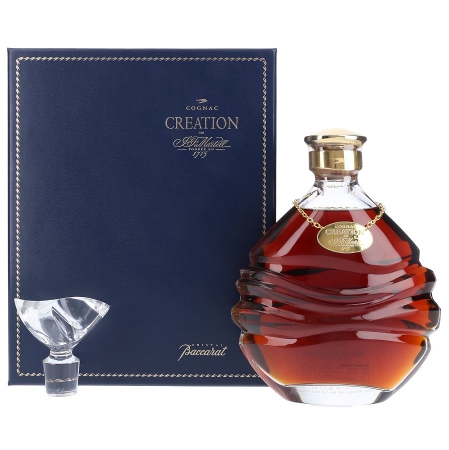 Martell Creation Baccarat Decanter Cognac