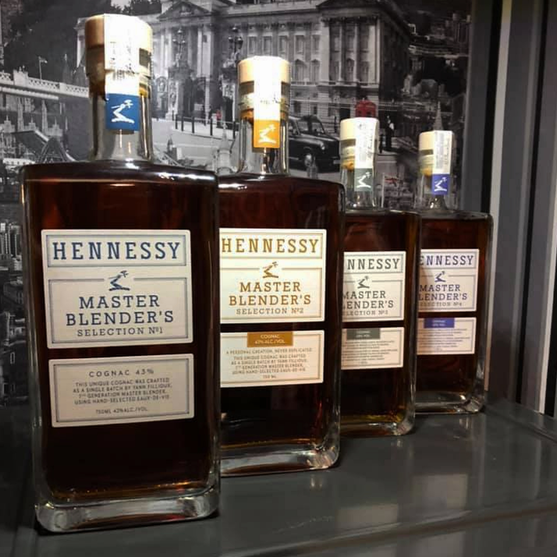 Hennessy Master Blenders aufgereiht