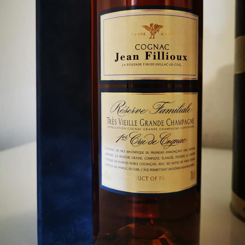 Jean Fillioux Tres Vielle Grande Champagne Cognac