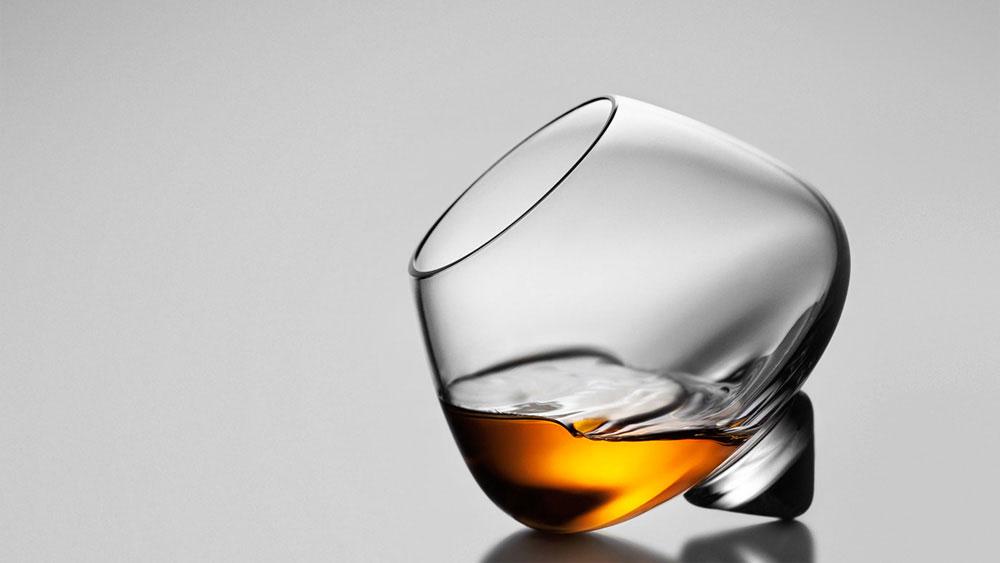 Cognac-Glas