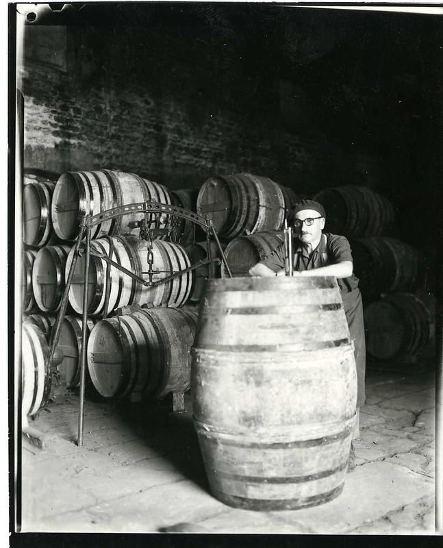 Alte Cognac-Fässer