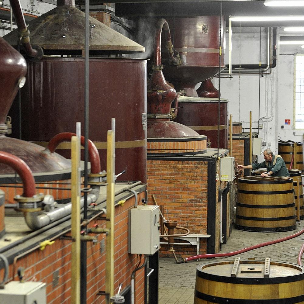 Destillierkolben von Vallein Tercinier