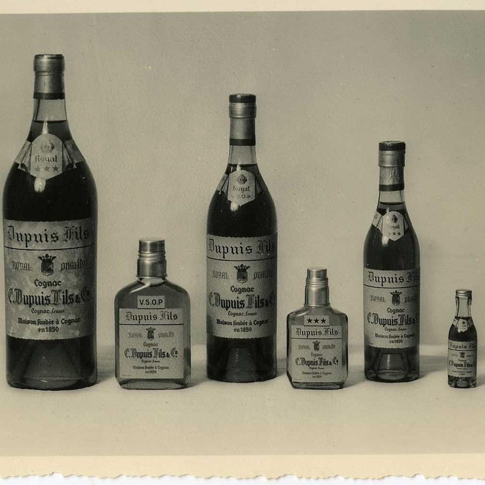Alte Flaschen Vallein Tercinier