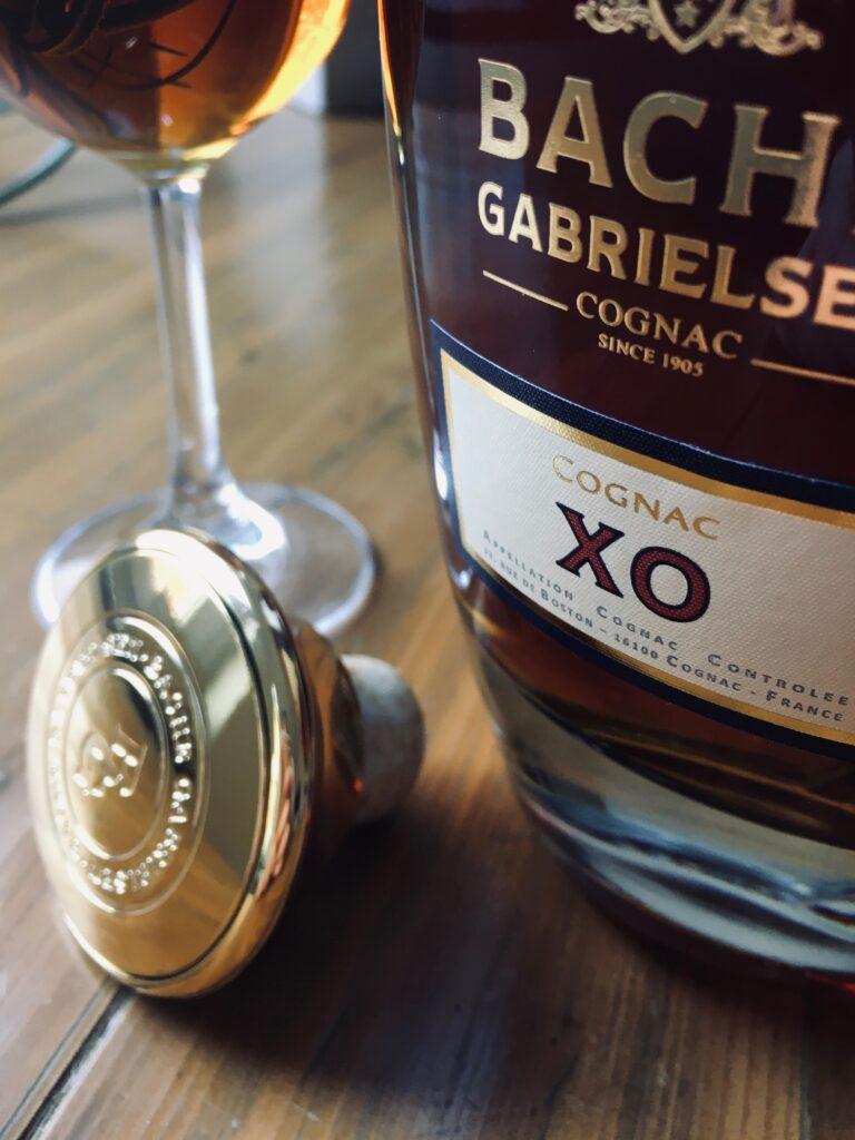 Nahe Aufnahme des Bache-Gabrielsen XO Premium