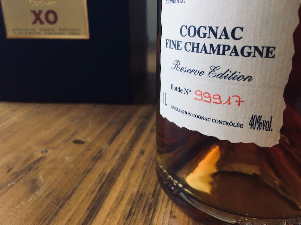 Flaschennumer 9917 des Bache-Gabrielsen XO Thomas Prestige