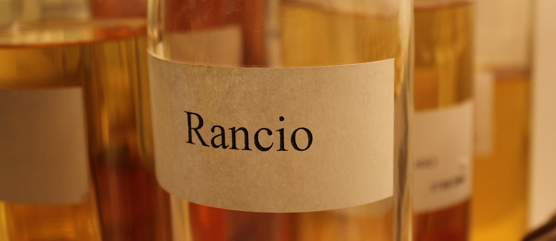 Rancio Cognacflasche